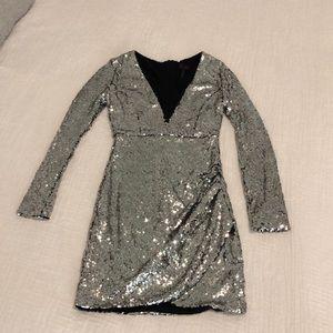 Dress mini Silver size S